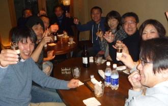 高崎市トライアスロン協会 宴会(飲み会)