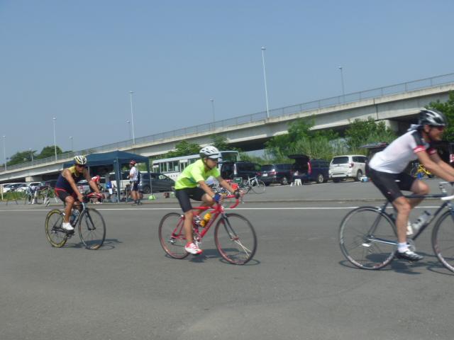 高崎市トライアスロン協会の真夏のバイク練習会