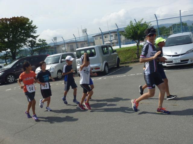 2014高崎子供トライアスロン大会前のランコース試走!