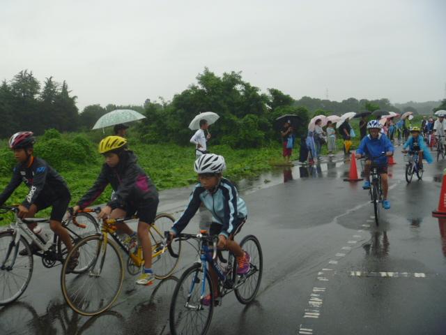 第2回高崎チャレンジ・子供トライアスロン大会風景
