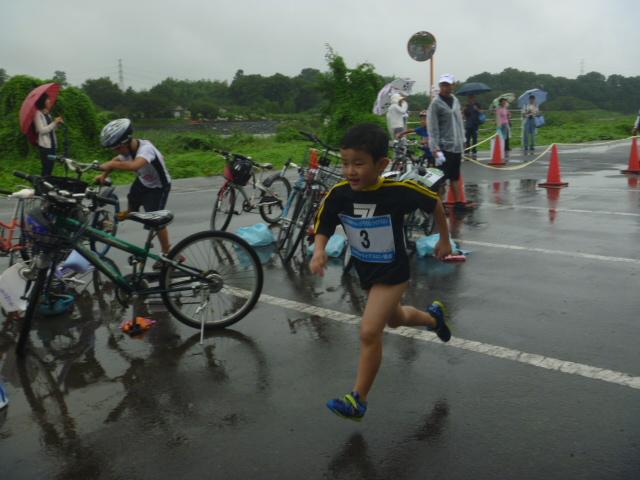 第2回高崎チャレンジ・子供トライアスロン