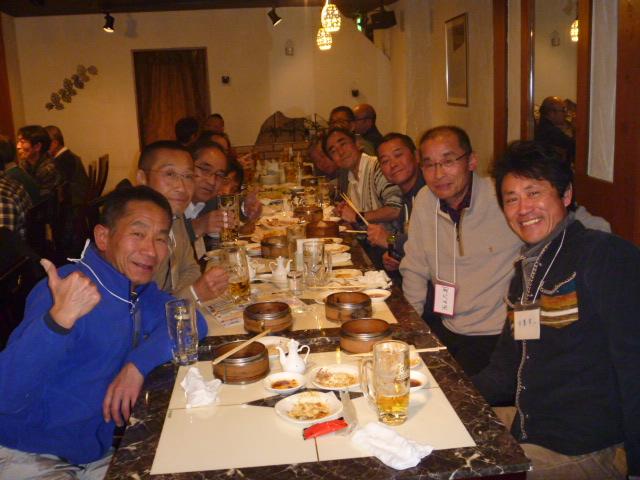 2015高崎市トライアスロン協会の忘年会風景
