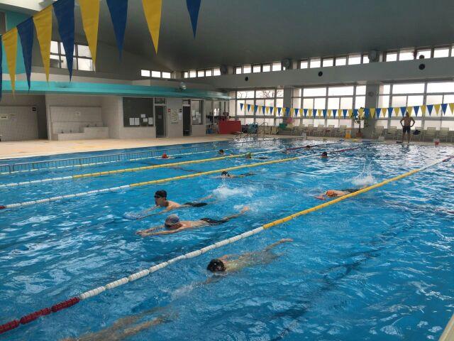 新町プールのスイム練習会