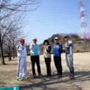 高崎のランニング練習会!集合写真でポーズ!
