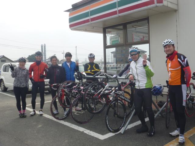 2016年3月開催バイク定例練習会