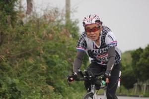 2016宮古島トライアスロン バイク奮闘中!