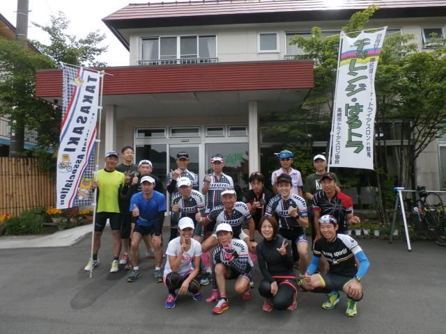 2016チャレンジはるトラ榛名湖合宿